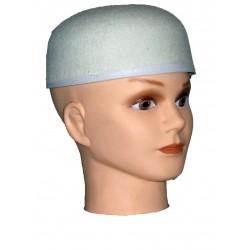 Chapeau calot blanc
