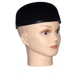 Chapeau calot noir