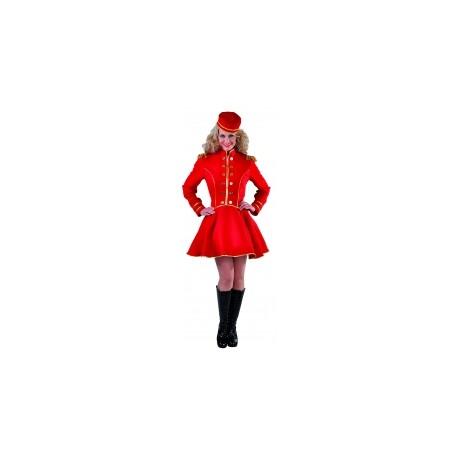 Groom fille rouge