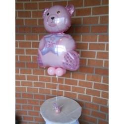 Ballon it's girl rose