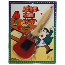 Faux pinceau avec tache