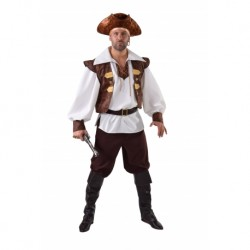 Pirate homme brun