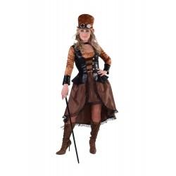 pirate femme brun