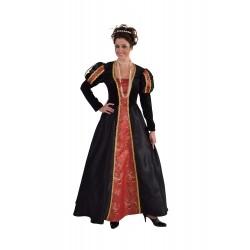 Robe moyen-age luxe