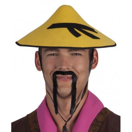 Chapeau de chinois jaune