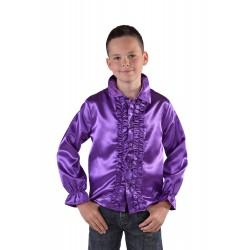 Chemise disco mauve enfant