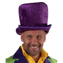 Chapeau clown luxe