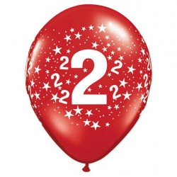 Ballon 2 ans multi