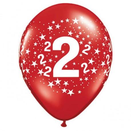 Ballon 2 ans multi