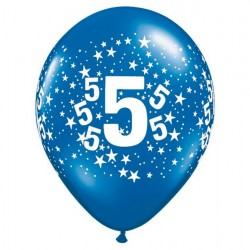 Ballon 5 ans multi