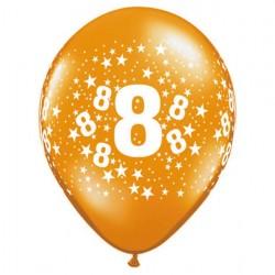 Ballon 8 ans multi