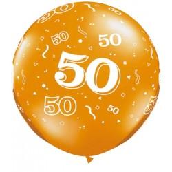 Ballon 50 ans 1 mètre de diamètre