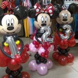 Ballon mickey ou minnie