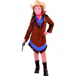 Cowgirl fille brun