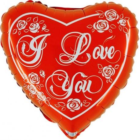 Ballon coeur i love you