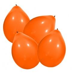 Ballon par 100 orange
