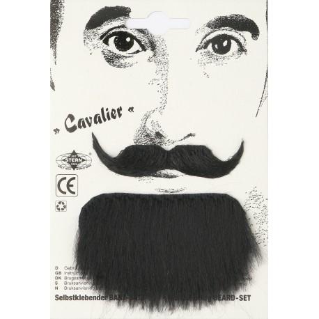 Moustache cavalier