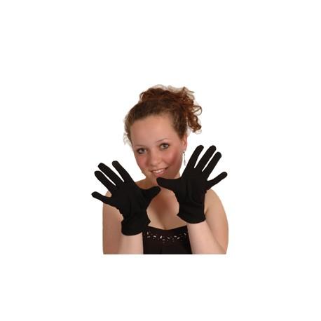 Gant noir avec pression