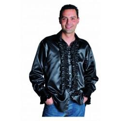 Chemise disco noir