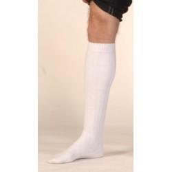 Haute chaussette blanche