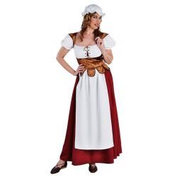 Robe médiéval femme
