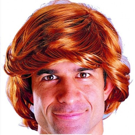 Perruque rousse homme