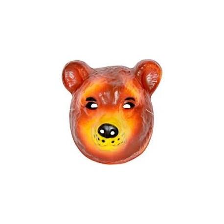 Masque ours en plastique