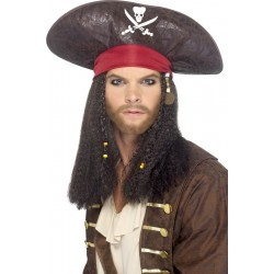 Chapeau pirate jack