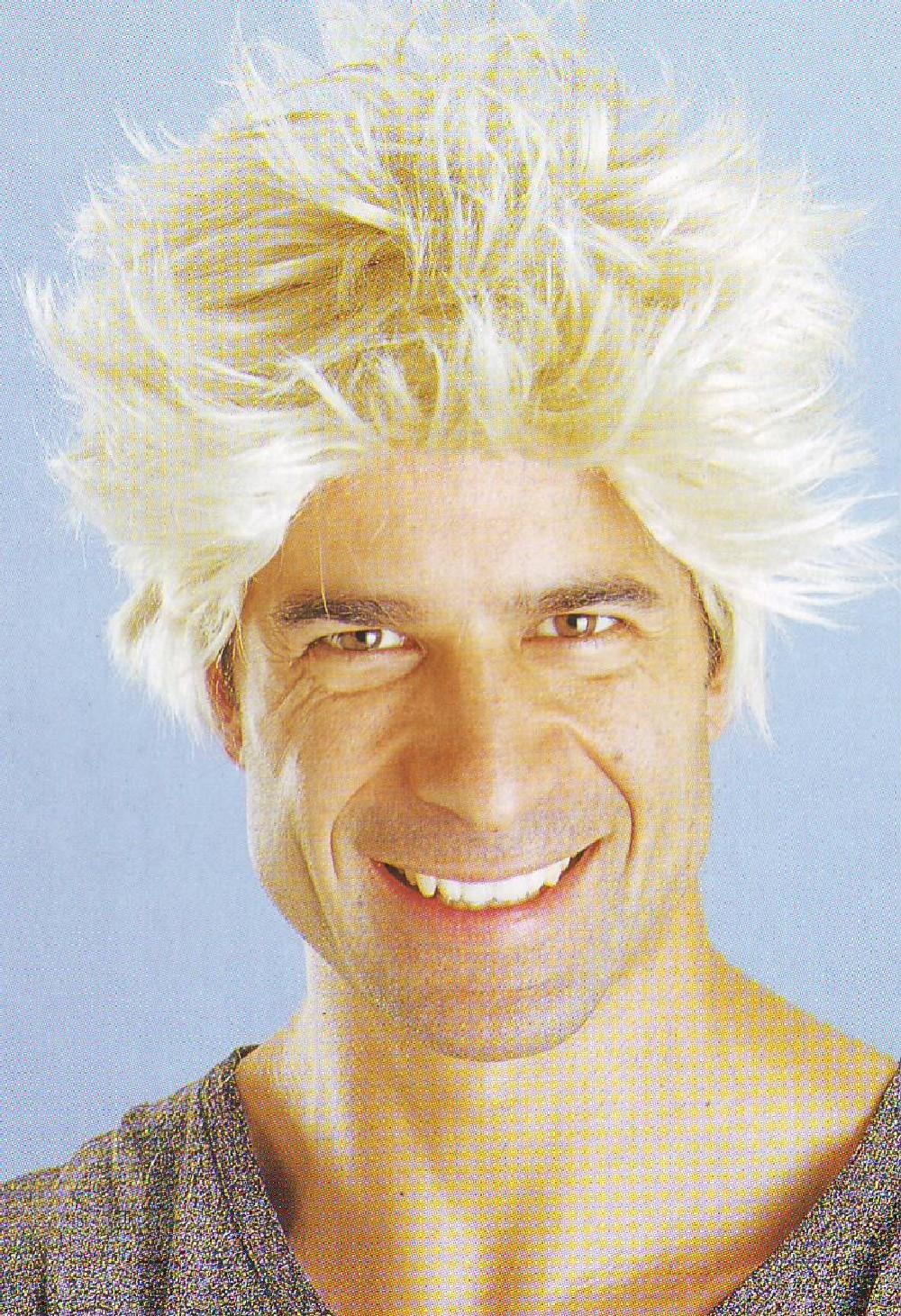 Perruque blonde homme - Le Cotillon