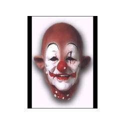 Masque clown en latex