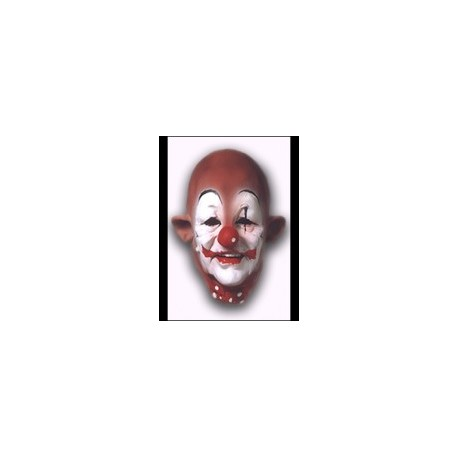Masque clown en latex