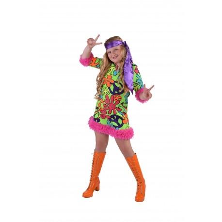 Hippie fille enfant peace