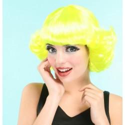 Perruque jaune femme