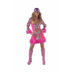 Hippie femme rose