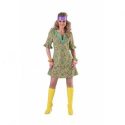 Hippie femme vert