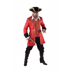 Pirate rouge homme