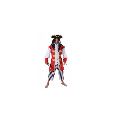 Pirate rouge et blanc