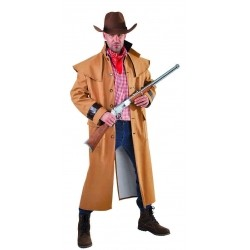 Manteau cow-boy luxe