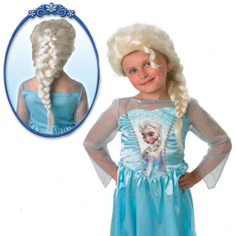 Perruque elsa reine des neiges le cotillon - Ren des neige ...