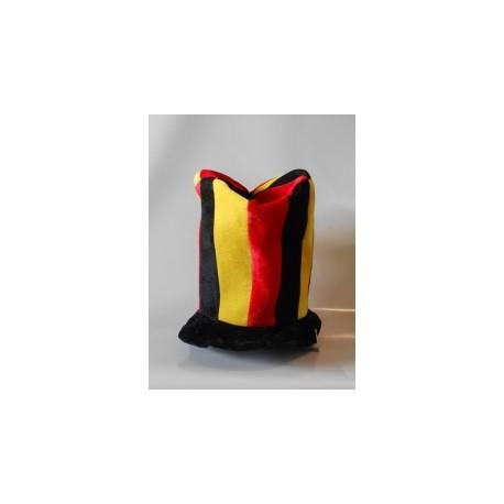 Supporter belge cylindre