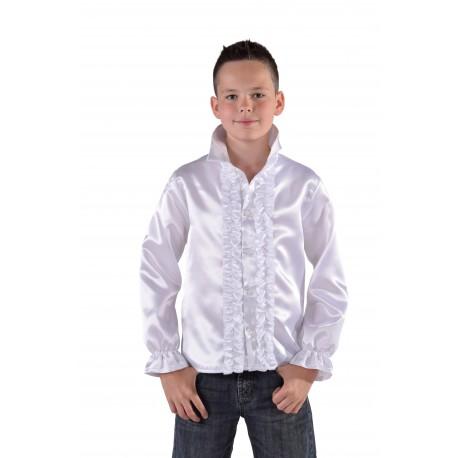 chemise disco blanc