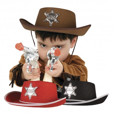 Chapeau sheriff enfant