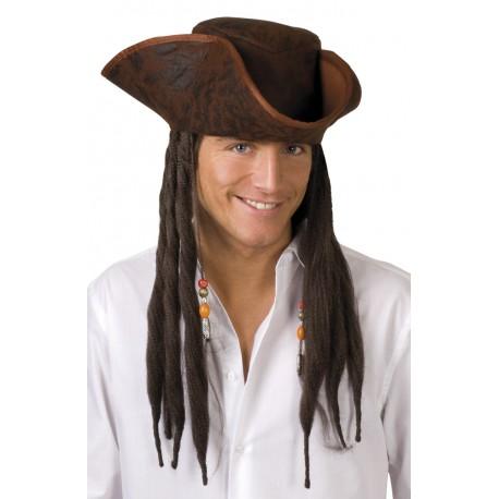 pirate avec cheveux