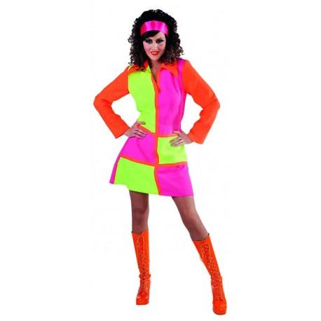 Robe disco fluo