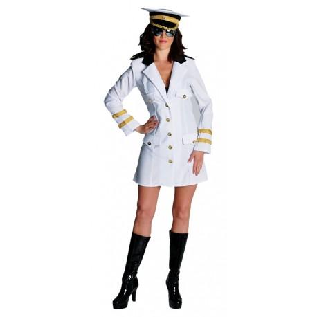 Déguisement capitaine femme