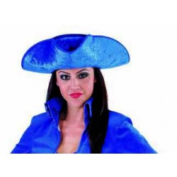 tricorne bleu