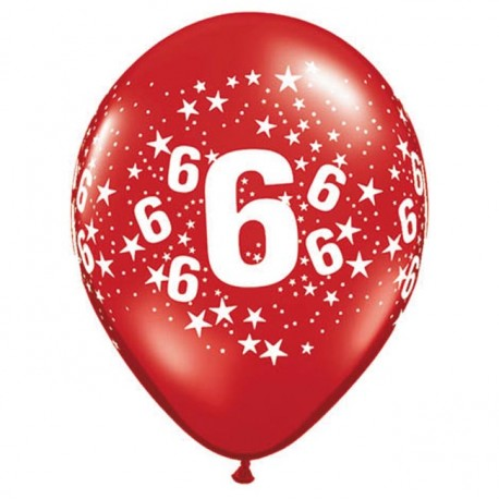 Ballon 6 ans multi