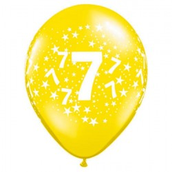 Ballon 7 ans multi