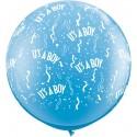 Ballon it's a boy 1 mètre de diamètre