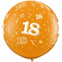 Ballon 18 ans 1 mètre de diamètre